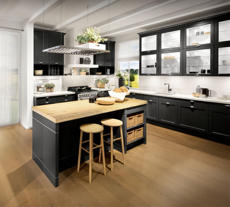 An image of a bespoke designed kitchen